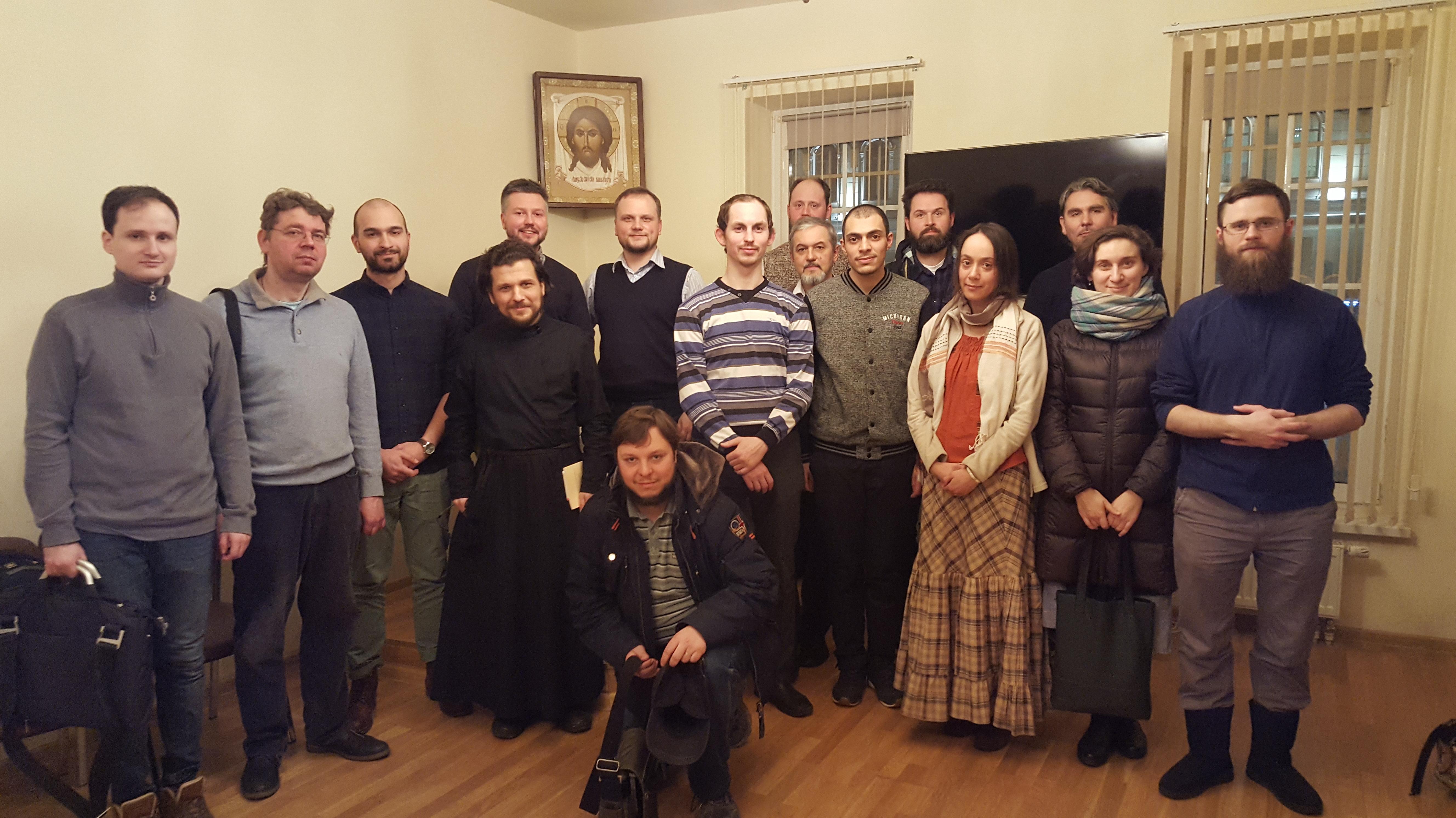 Встреча ведущих Евангельских кружков Москвы