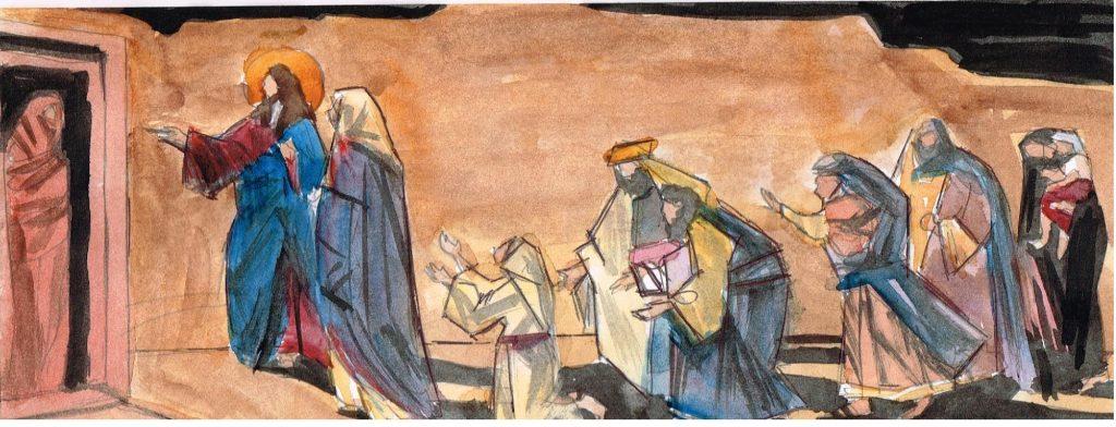 Великий пост. Евангелие от Иоанна, главы 11-12