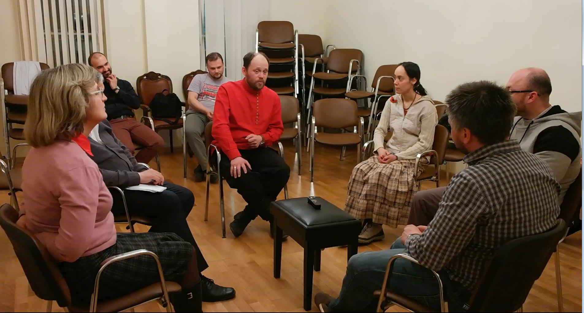 Вторая встреча ведущих Ев. кружков