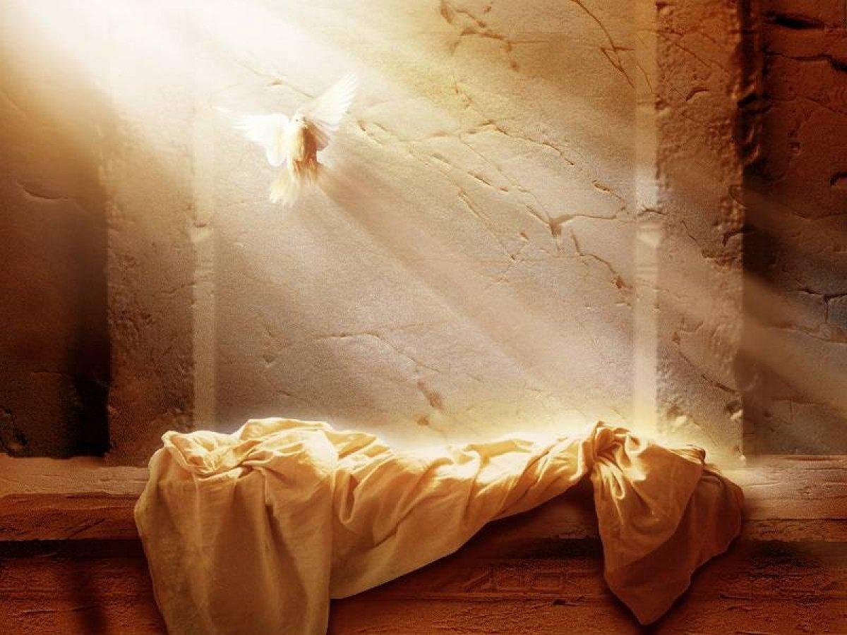 с Воскресением Господа нашего Иисуса, и с Новым Заветом!