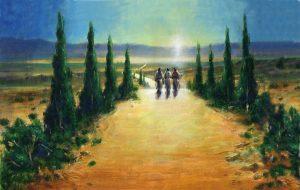 Апостолы на дороге в Эммаус