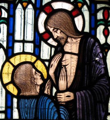 Христос является своим ученикам