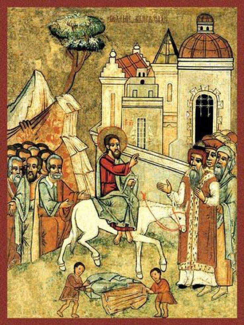 Великий пост. Евангелие от Луки 19-20