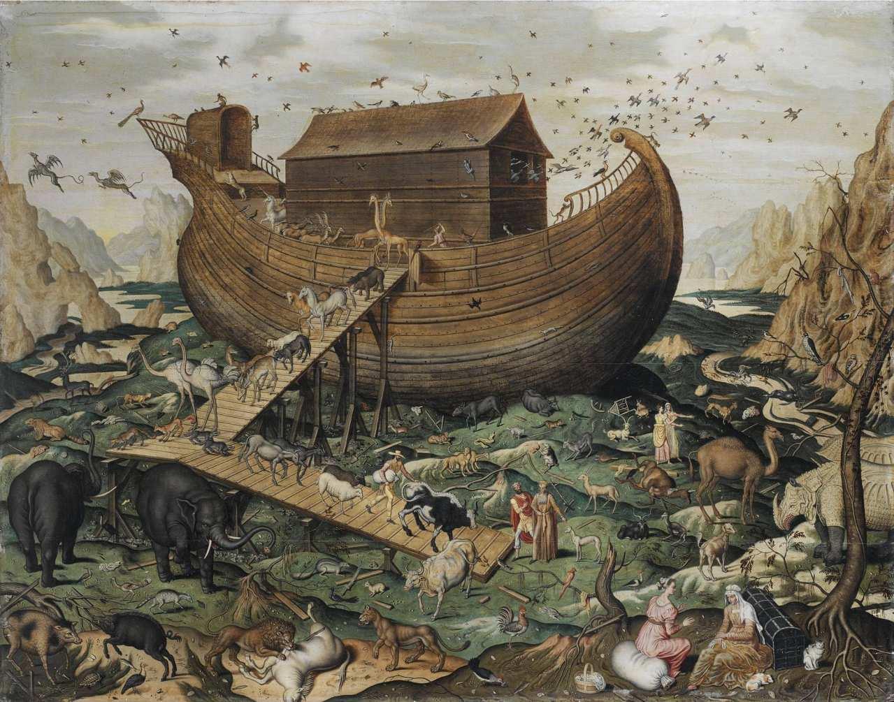 003 Потоп Бытие 6:5-7:24
