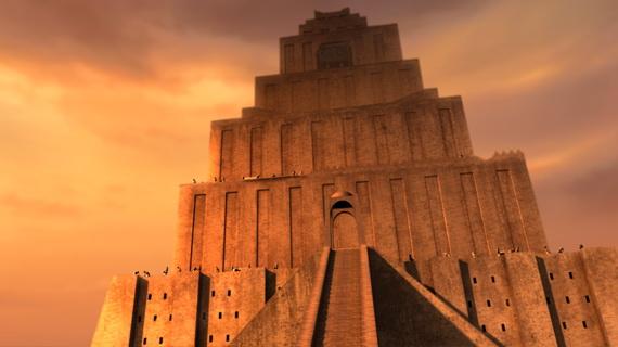 005 Вавилонская башня. Бытие 11:1-9
