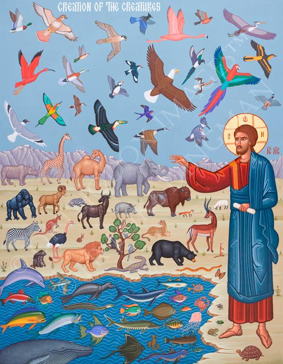 001. Творение Бытие 1:1-2:25