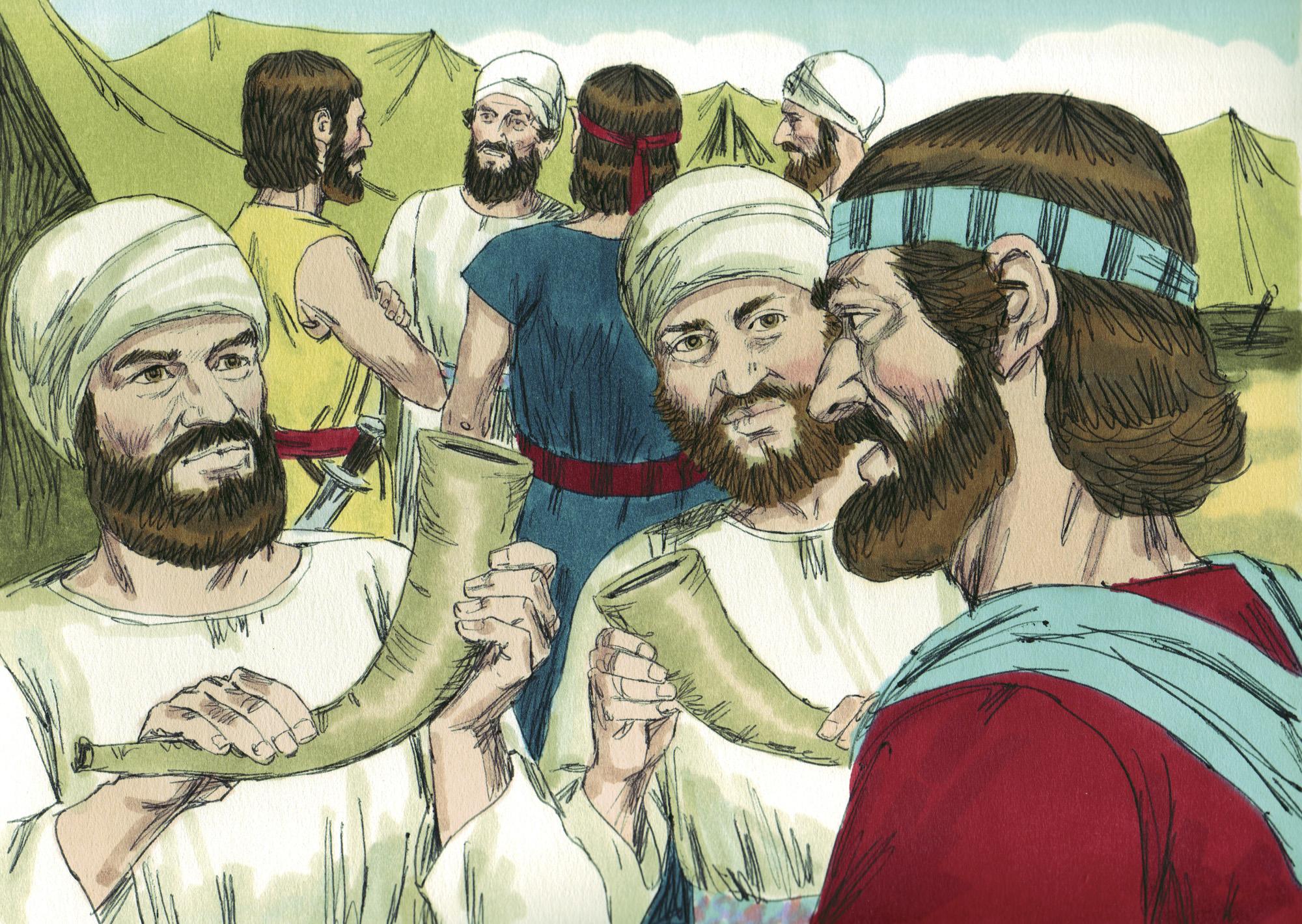 025 Падение Иерихона И.Навин 5:1-6:26