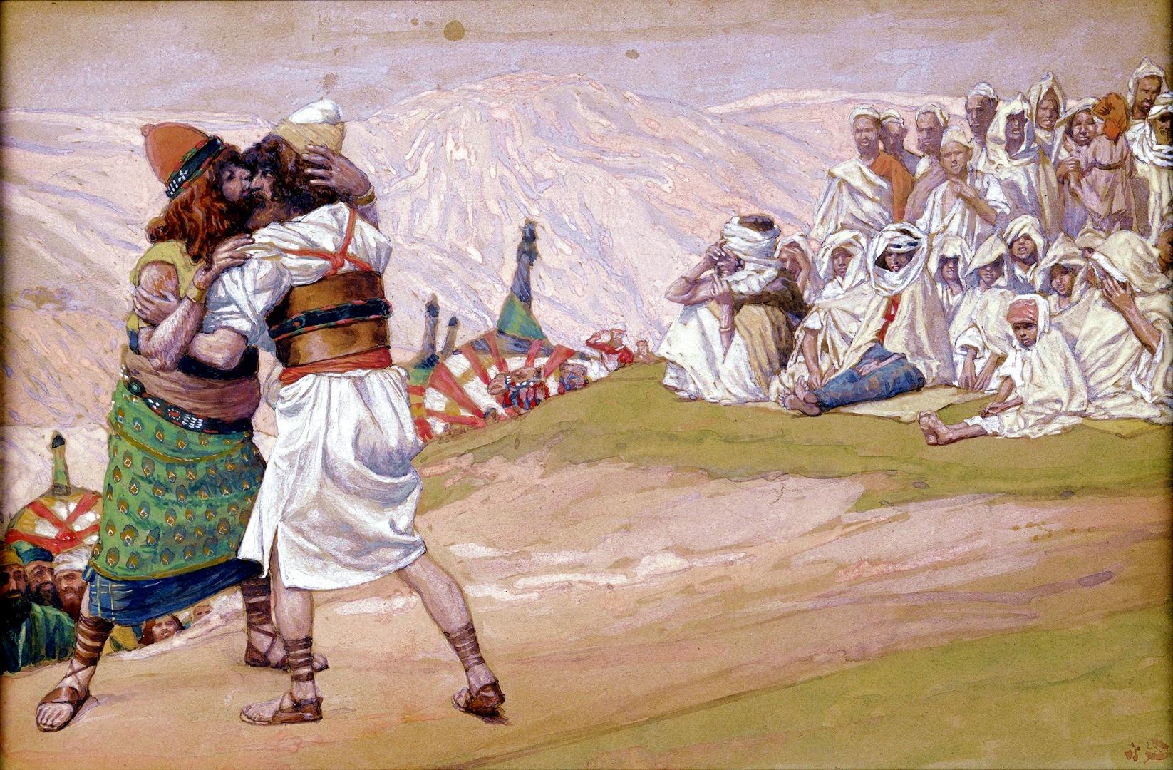 010 Примирение братьев Бытие 32:1-33:20