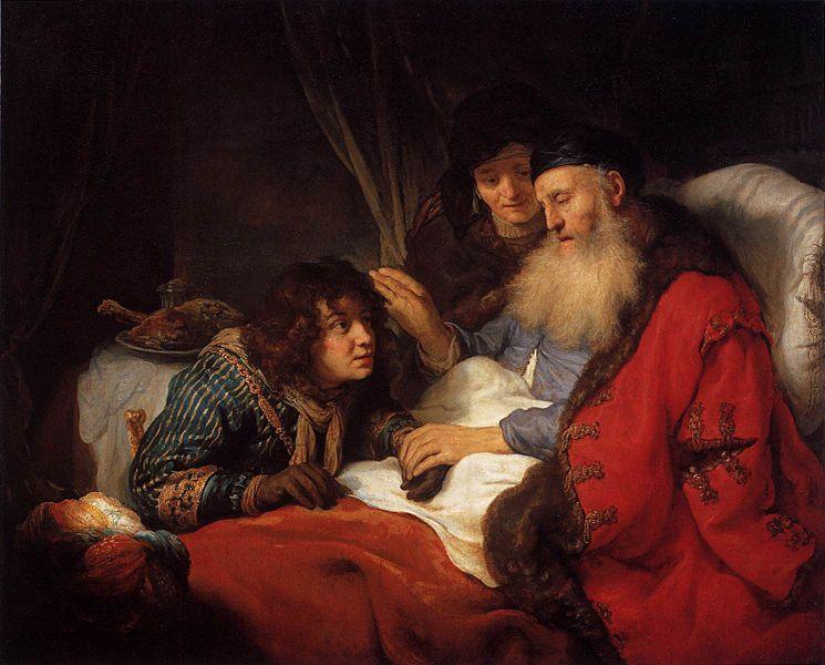 009 Соперничество Иакова и Исава 27:1-28:22