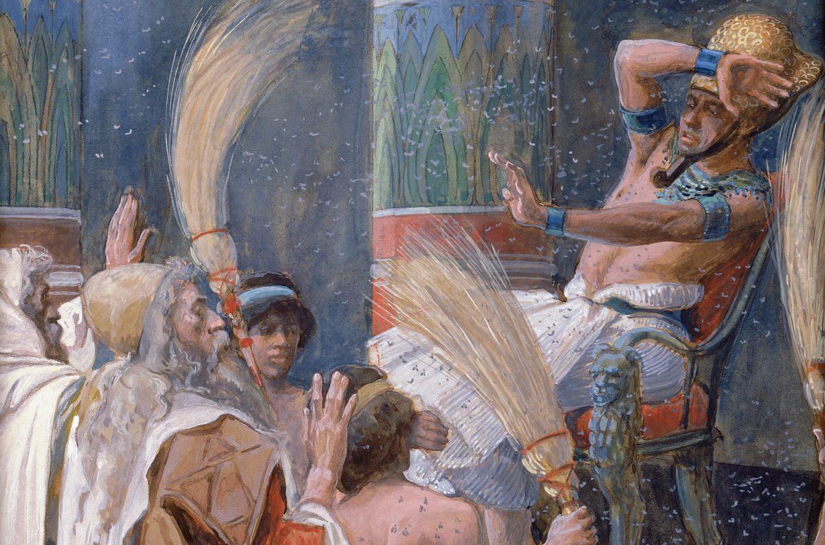 018 Десять казней Исход 6:28-11:10