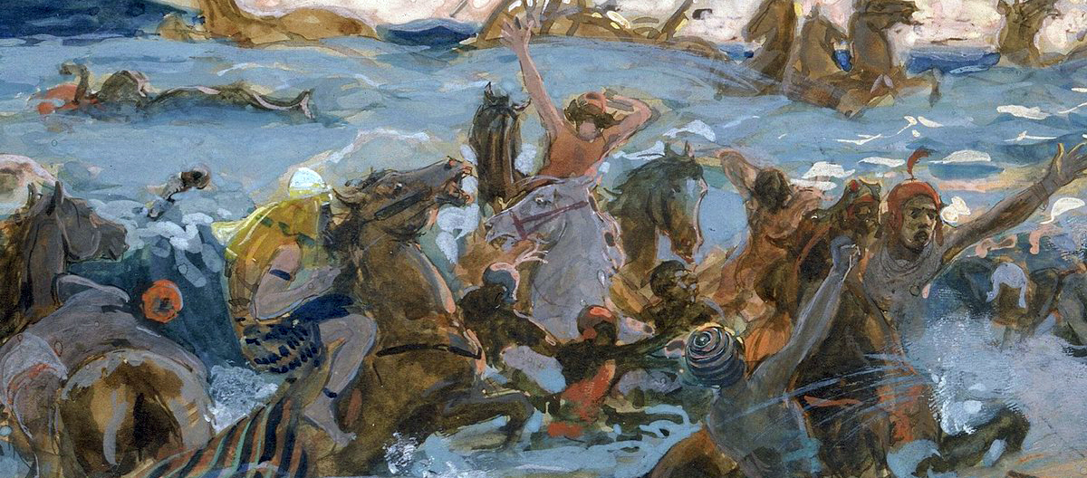 020 Переход через Чермное море Исход 13:17-14:31