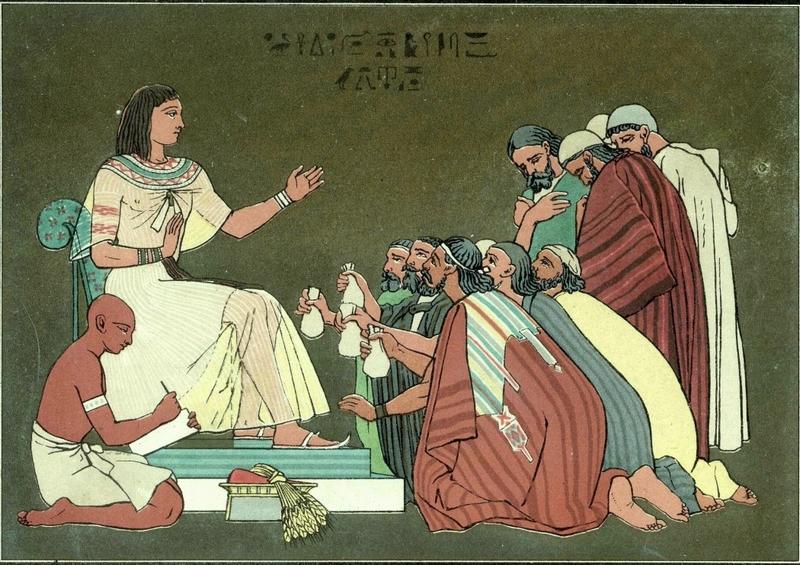 013 В Египет за хлебом Бытие 42:1-42:38