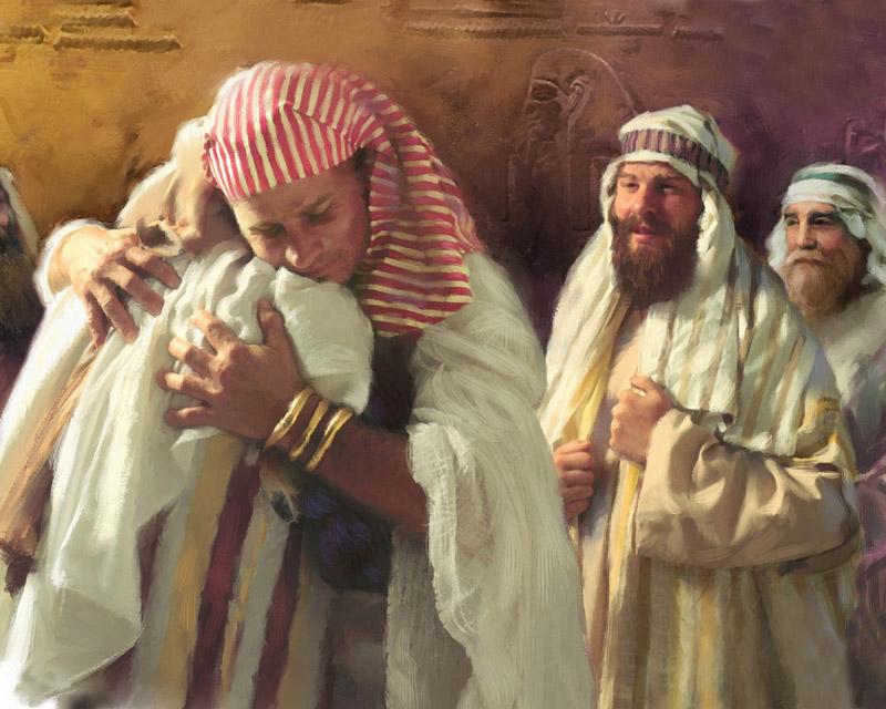 015 Иосиф открывает себя Бытие 45:1-46:7