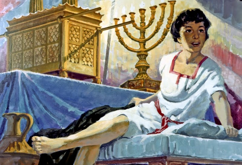 031 Самуил слушает Бога 1 Царств 1:1-3:21