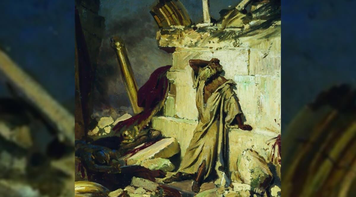 040 Пророчество о разрушении Иерусалима и Храма Иер. 7:1-8:3