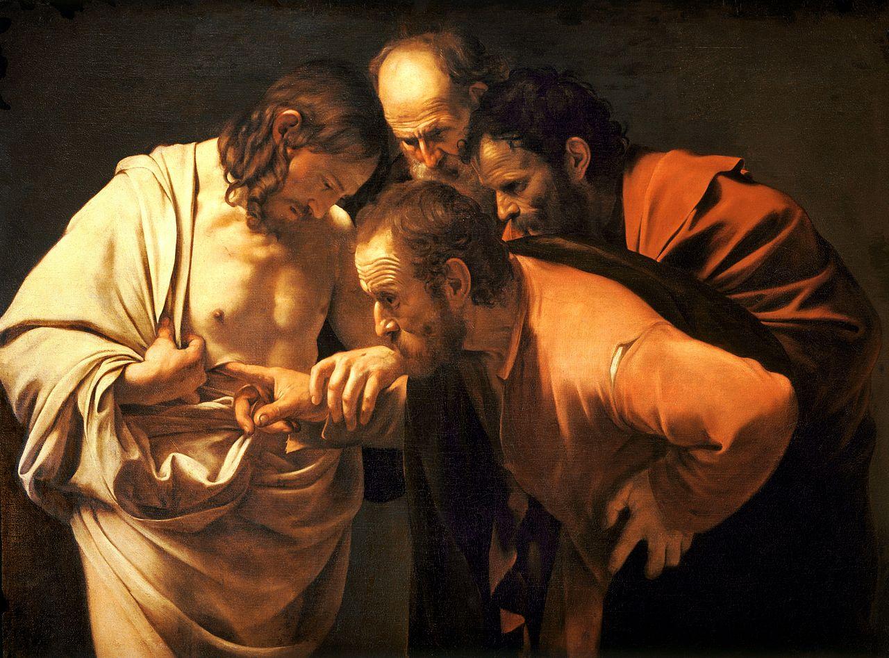 Евангелие от Иоанна, 20 глава (Антипасха, неделя ап. Фомы)