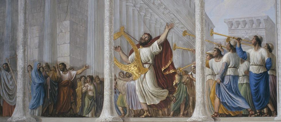034 Воцарение Давида 2 Царств 5:1-7:19