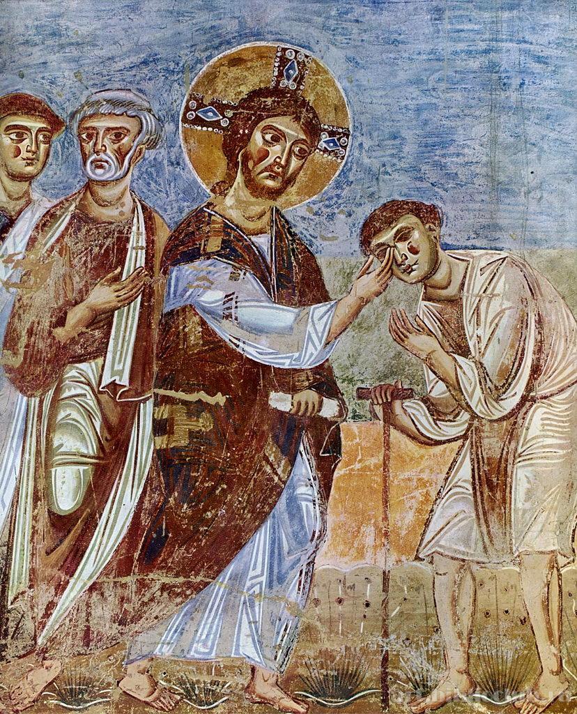 064 Исцеление слепорожденного (Ин. 9:1-41)
