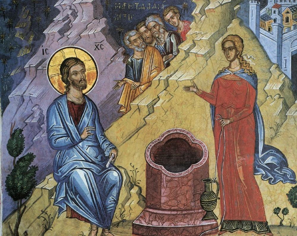 060 Беседа с самарянкой (Ин. 4:1-29)