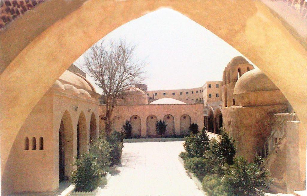 Коптский монастырь в Египте