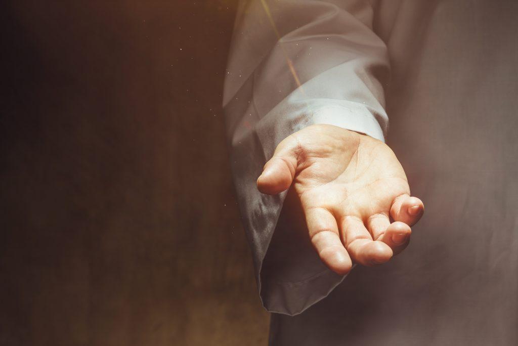 Христос протягивает руку